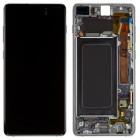 Оригинальный дисплей в рамке Samsung Galaxy S10 Plus G975F GH82-18849A