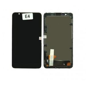 Оригинальный LCD экран и Тачскрин сенсор Sony Xperia E4 модуль с рамкой