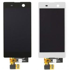 Оригинальный LCD экран и Тачскрин сенсор Sony Xperia M5 модуль