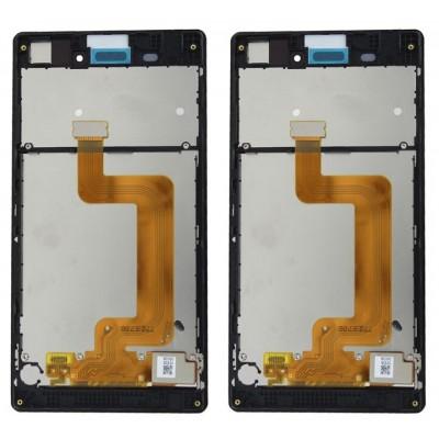 Оригинальный LCD экран и Тачскрин сенсор Sony Xperia T3 модуль с рамкой