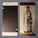 Оригинальный ЛСД экран и Тачскрин сенсор Sony Xperia XA Dual F3112 модуль