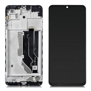 Оригинальный LCD экран и Тачскрин сенсор ZTE Blade 20 Smart модуль с рамкой