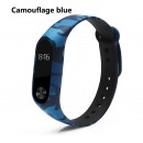 Ремешок Mi Fit для фитнес браслета - Xiaomi Mi band 2 (Camouflage blue)