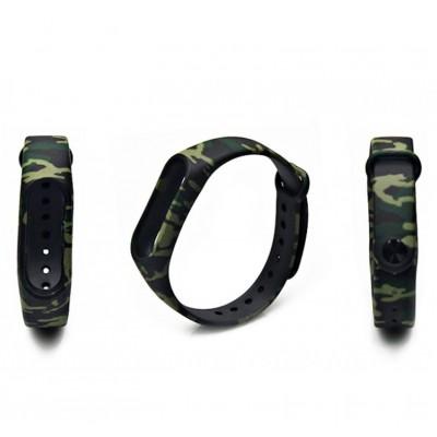 Ремешок Mi Fit для фитнес браслета - Xiaomi Mi band 2 (Camouflage green)