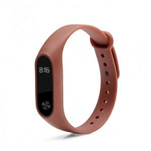 Ремешок Mi Fit для фитнес браслета - Xiaomi Mi band 2 (Coffee)