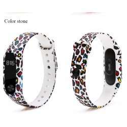 Ремешок Mi Fit для фитнес браслета - Xiaomi Mi band 2 (Color stone)
