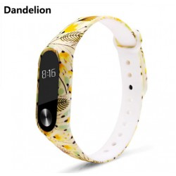 Ремешок Mi Fit для фитнес браслета - Xiaomi Mi band 2 (Dandelion)