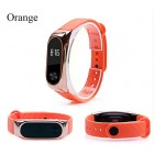 Ремешок Mi Fit для фитнес браслета - Xiaomi Mi band 2 (Zinc Alloy Orange)
