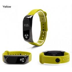 Ремешок Mi Fit для фитнес браслета - Xiaomi Mi band 2 (Zinc Alloy Yellow)