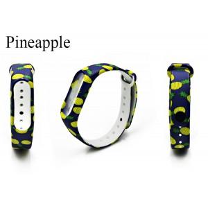 Ремешок Mi Fit для фитнес браслета - Xiaomi Mi band 3-4 (Pineapple)