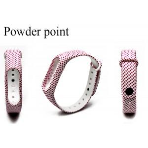 Ремешок Mi Fit для фитнес браслета - Xiaomi Mi band 2 (Powder point)