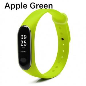 Ремешок Mi Fit для фитнес браслета - Xiaomi Mi band 3-4 (Apple Green)