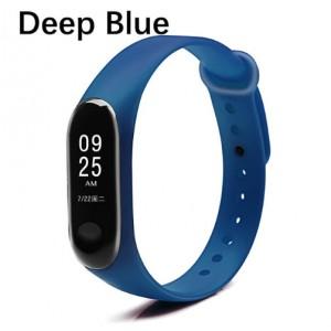 Ремешок Mi Fit для фитнес браслета - Xiaomi Mi band 3-4 (Deep Blue)