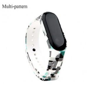 Ремешок Mi Fit для фитнес браслета - Xiaomi Mi band 3-4 (Multi pattern)