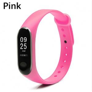 Ремешок Mi Fit для фитнес браслета - Xiaomi Mi band 3-4 (Pink)
