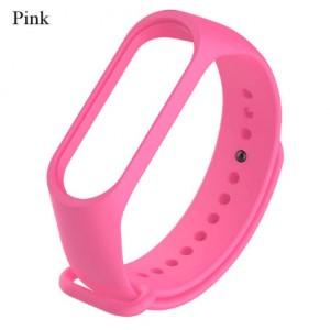 Ремешок Mi Fit для фитнес браслета - Xiaomi Mi band 3-4 (pink 3)