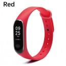 Ремешок Mi Fit для фитнес браслета - Xiaomi Mi band 3-4 (Red)