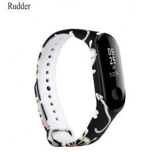 Ремешок Mi Fit для фитнес браслета - Xiaomi Mi band 3-4 (Rudder)