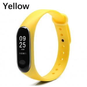 Ремешок Mi Fit для фитнес браслета - Xiaomi Mi band 3-4 (Yellow)