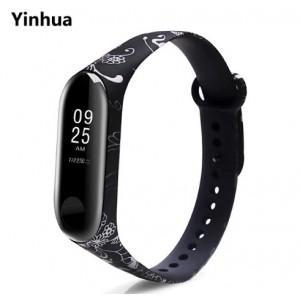 Ремешок Mi Fit для фитнес браслета - Xiaomi Mi band 3-4 (Yinhua)