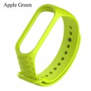 Ремешок Mi Fit для фитнес браслета - Xiaomi Mi band 3-4 (apple green 3)