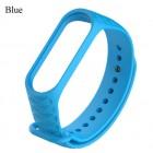 Ремешок Mi Fit для фитнес браслета - Xiaomi Mi band 3 (blue 3)