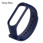 Ремешок Mi Fit для фитнес браслета - Xiaomi Mi band 3 (deep blue 3)