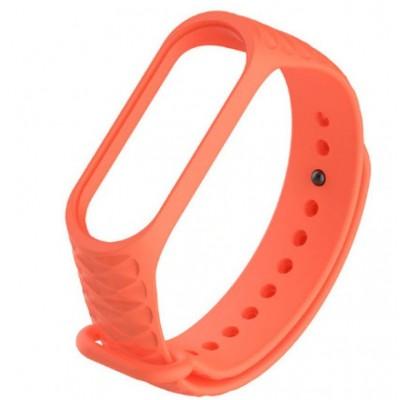 Ремешок Mi Fit для фитнес браслета - Xiaomi Mi band 3-4 (orange 3)