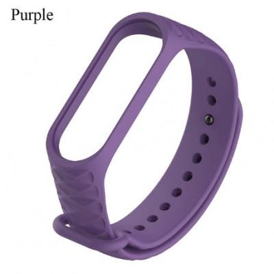 Ремешок Mi Fit для фитнес браслета - Xiaomi Mi band 3-4 (purple 3)