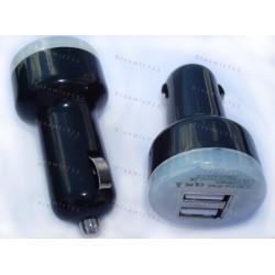 Автомобильная зарядка, прикуриватель! 2 usb входа ( 1 и 2 Ампера)
