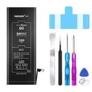 Оригинальная батарея 6G NOHON - 2200 Mah для Apple iPhone 6