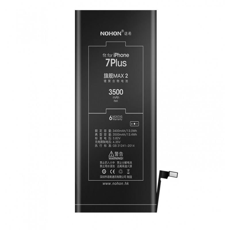 Оригинальная батарея 7 Plus NOHON - 2900 Mah для Apple iPhone 7 Plus