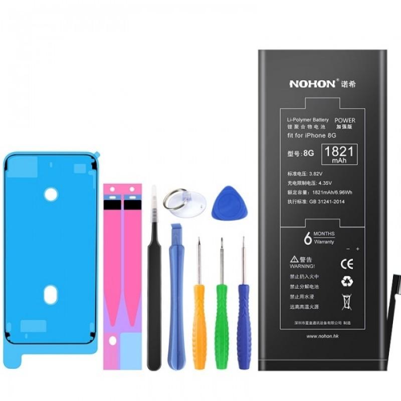Оригинальная батарея 8G NOHON - 1821 Mah для Apple iPhone 8