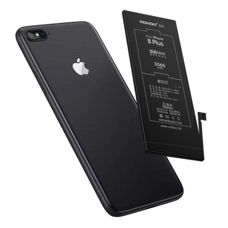 Оригинальная батарея 8 Plus NOHON - 3360 Mah для Apple iPhone 8 Plus