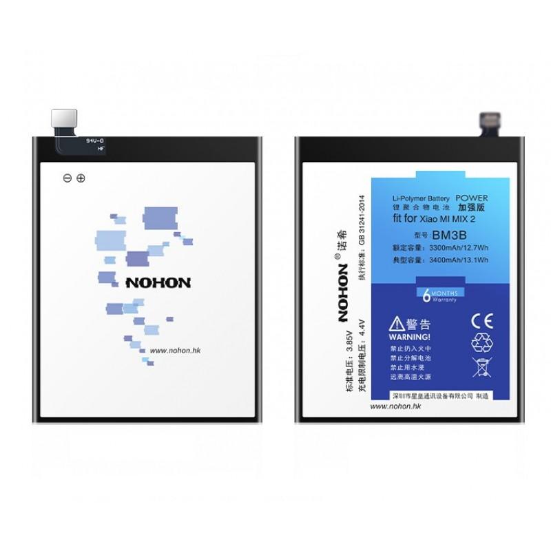 Оригинальная батарея BM3B NOHON - 3000 Mah для Xiaomi Mi Mix 2