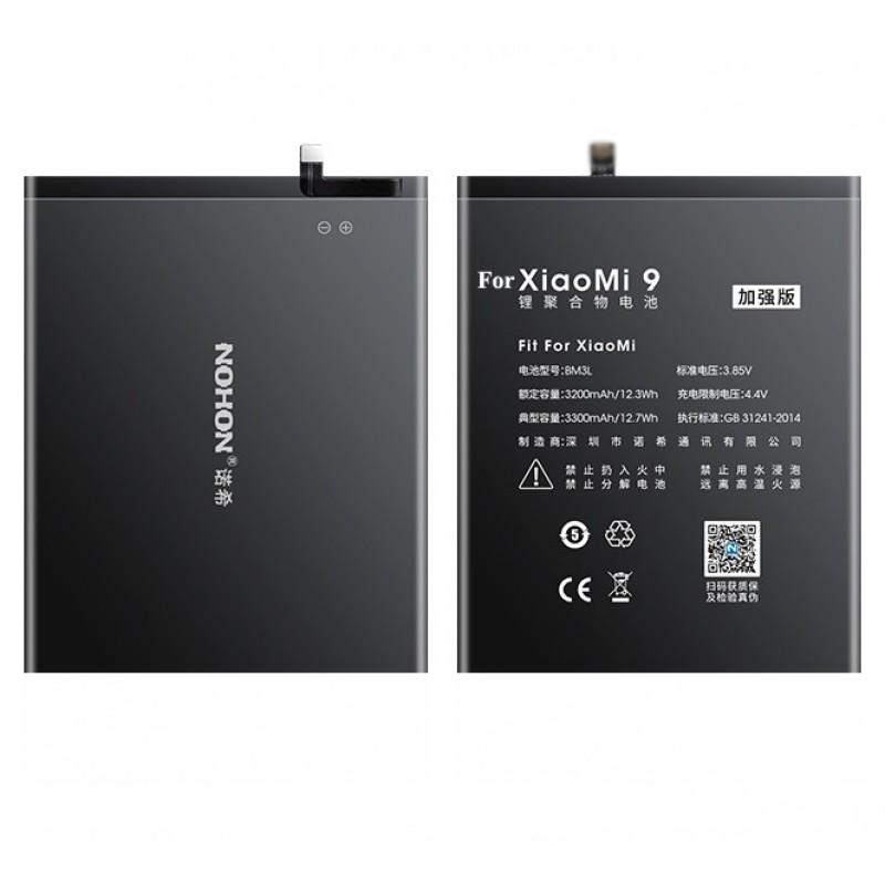Оригинальная батарея BM3L NOHON - 3300 Mah для Xiaomi Mi 9