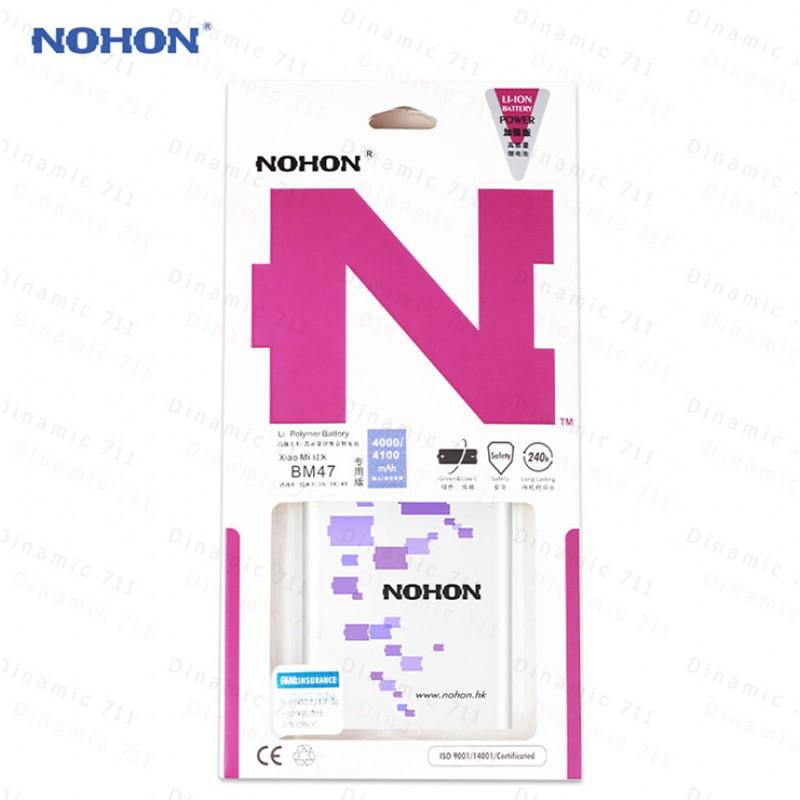 Оригинальная батарея BM47 NOHON - 4000 Mah для Xiaomi Redmi 3, 3S, 3x, 4x