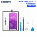 Оригинальная батарея BN34 NOHON - 3000 Mah для Xiaomi Redmi 5a