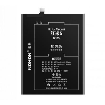 Оригинальная батарея BN35 NOHON - 3300 Mah для Xiaomi Redmi 5