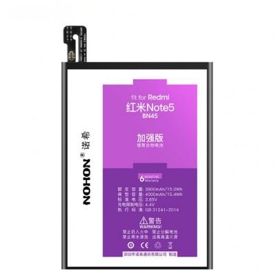 Оригинальная батарея BN45 NOHON - 4000 Mah для Xiaomi Redmi Note 5