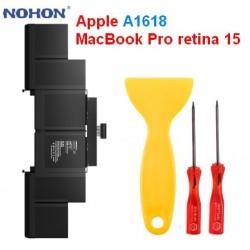 Оригинальная батарея A1618 NOHON - 8755 Mah для Apple MacBook Pro retina 15