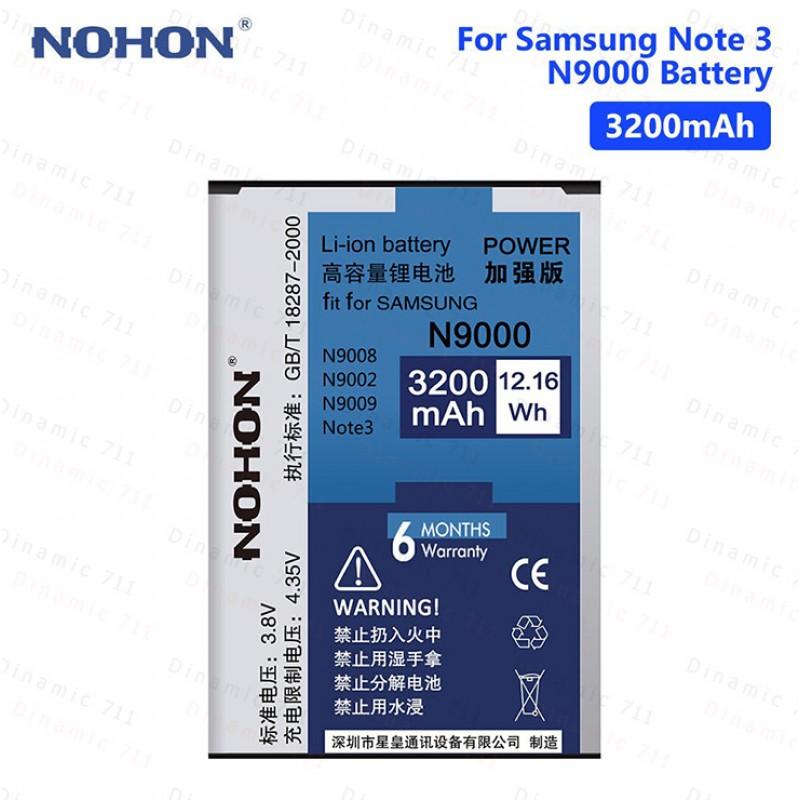 Оригинальная батарея N9000 NFC NOHON - 3200 Mah для Samsung Galaxy Note 3