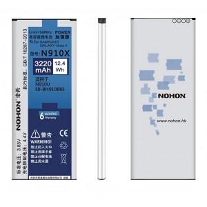 Оригинальная батарея N910X NOHON - 3220 Mah для Samsung Galaxy Note 4
