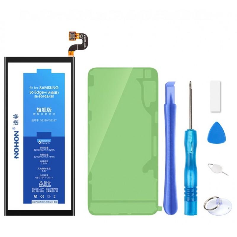 Оригинальная батарея EB-BG925ABE NOHON - 2600 Mah для Samsung Galaxy S6 Edge