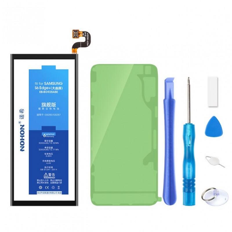 Оригинальная батарея EB-BG928ABE NOHON - 3000 Mah для Samsung Galaxy S6 Edge Plus