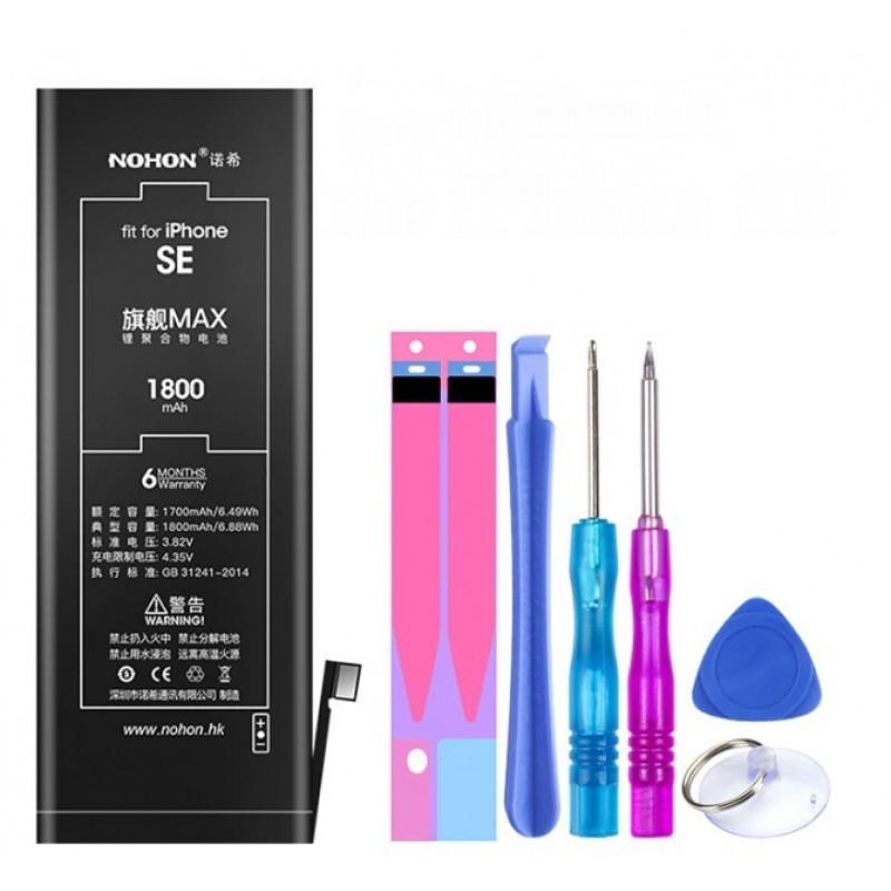 Оригинальная батарея SE NOHON - 1624 Mah для Apple iPhone SE