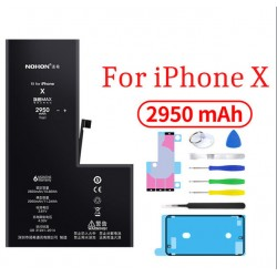 Оригинальная батарея X NOHON - 2950 Mah для Apple iPhone X