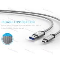 Оригинальный низкопрофильный кабель TIEGEM USB 3.1 Type-C, USB 3.0 -  5Гб/с с высоким качеством нейлона.
