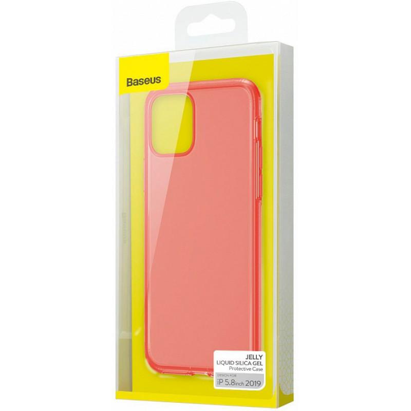 Тонкий матовый чехол Baseus Jelly Liquid Silica Gel - Apple iPhone 11 Pro
