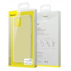 Тонкий матовый чехол Baseus Jelly Liquid Silica Gel - Apple iPhone 11